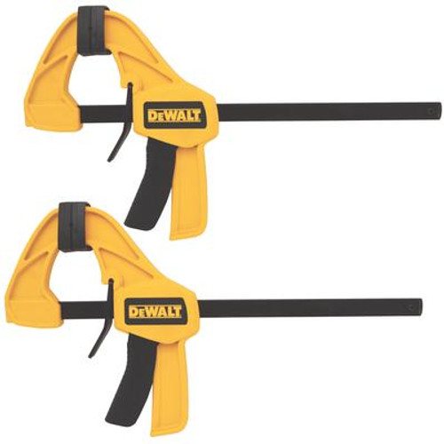 Dewalt 12-Inch. Medium Trigger Clamp (2-Pack)