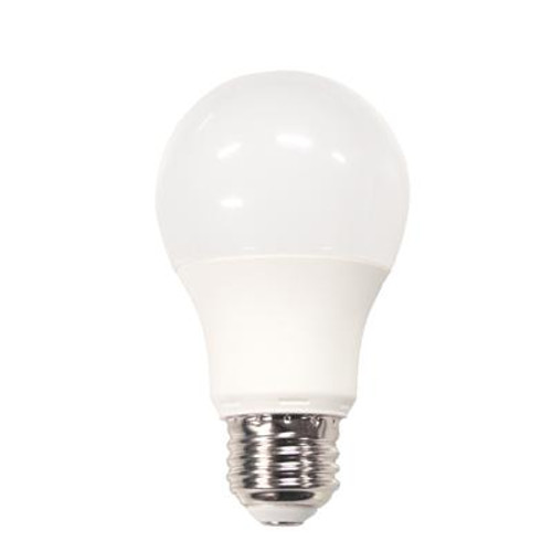 40W Equivalent Daylight (5000K) A19 Non-Dimmable LED Light Bulb (12-Pack)
