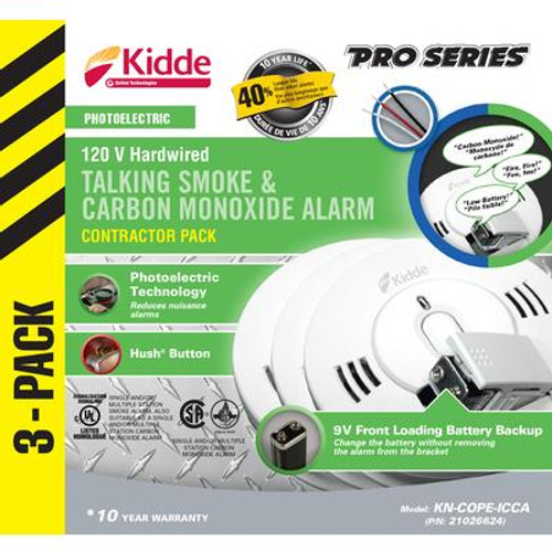 Combination Alarms - 3 Pack Photo