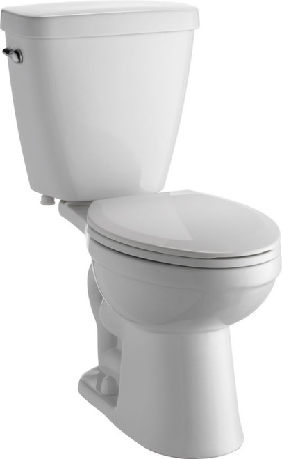 Delta Prelude Two Piece 1.28 Gal. Elongated Toilet in White