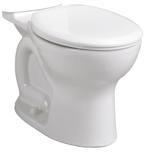 Cadet Pro Round Front Bowl, White