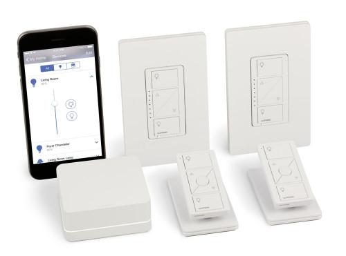 Caséta Wireless Smart Lighting In-Wall Dimmer Kit, Homekit-Enabled