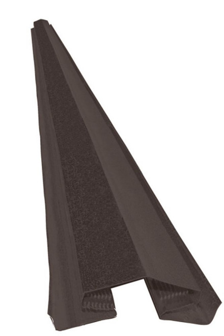 10 ft. Brown Ridge Vent Aluminum (Standard)