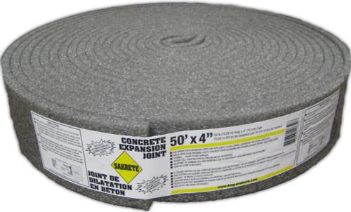 """SAKRETE Concrete Epansion Joint, 4"""" x 50 ft"""
