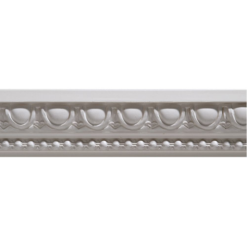 Primed Finger Joint Egg & Dart Chair Rail 27/32 x 1-15/16 - Sold Per 8 Foot Piece