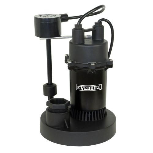 1/3 HP Aluminum Sump Pump w/Vertical Swt