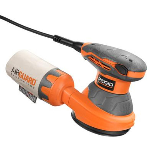 RIDGID 5 In. Random Orbit Sander