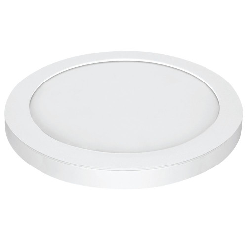 15 Inch.  LED Round Edge Lit Flush, White Trim