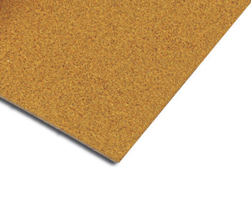 1/2 Inch Natural Cork Underlayment for Sound Reduction, 2 Feet x 3 Feet Sheets (25 Sheets)