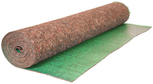100 ft, 3.67 ft x 27.3 ft Premium Felt Cushion Underlayment Roll