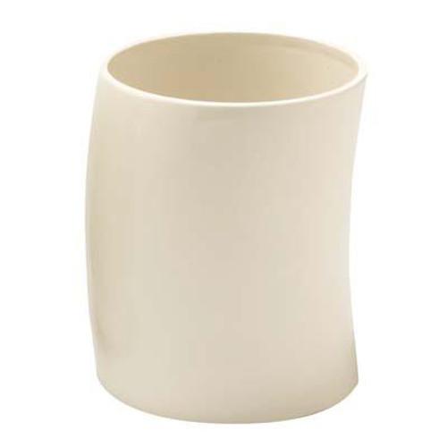 Jameson Waste Basket White Ceramic