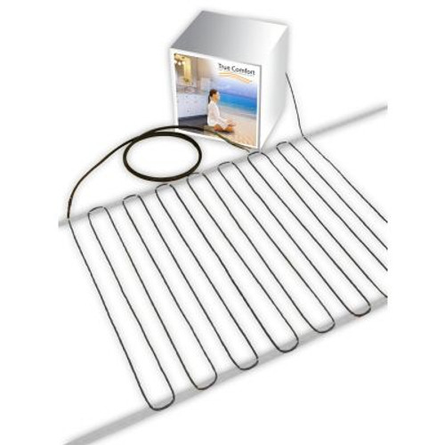 True Comfort 120-V Floor Heating Cable - Covers from 26 up to 33 sf depending on chosen spacing