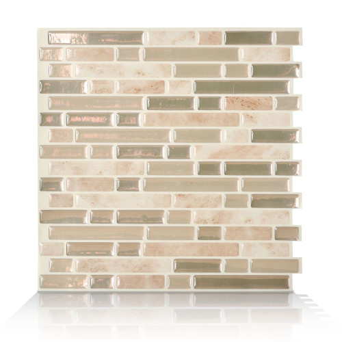 1 - Piece 10,06  Inch. X 10  Inch. Peel And Stick Sabbia Mosaik