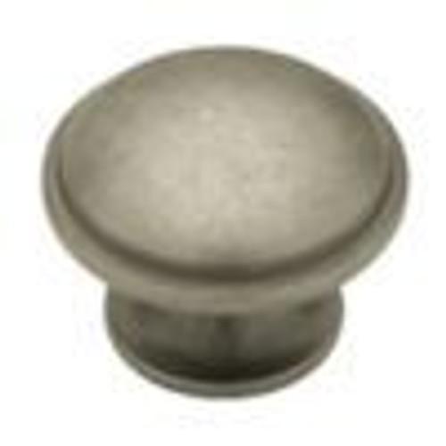 1-1/2  Wide Base Round Knob, 1 per pkg