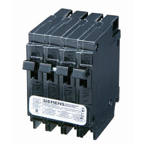 15/15A 2 Pole 120/240V Quad Siemens Type Q Breaker