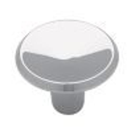 1  Concave Round Knob, 1 per pkg