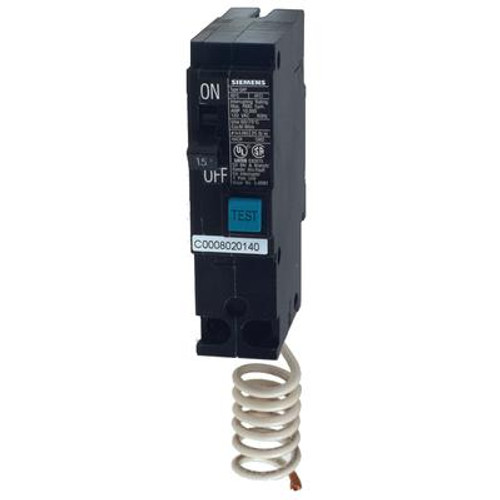 15A 1 Pole 120V Siemens Type Q Arc-Fault Breaker