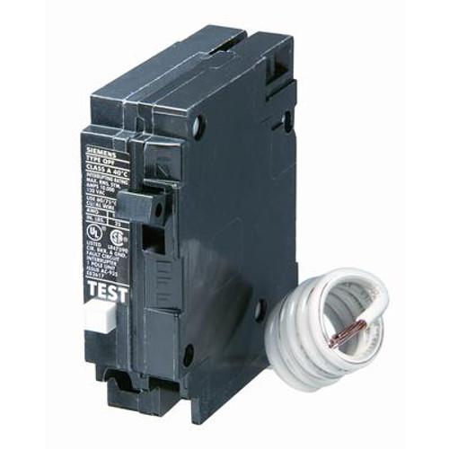 15A 1 Pole 120V Siemens Type Q GFCI Breaker