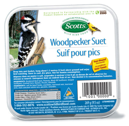 SCOTTS WOODPECKER SUET 310G