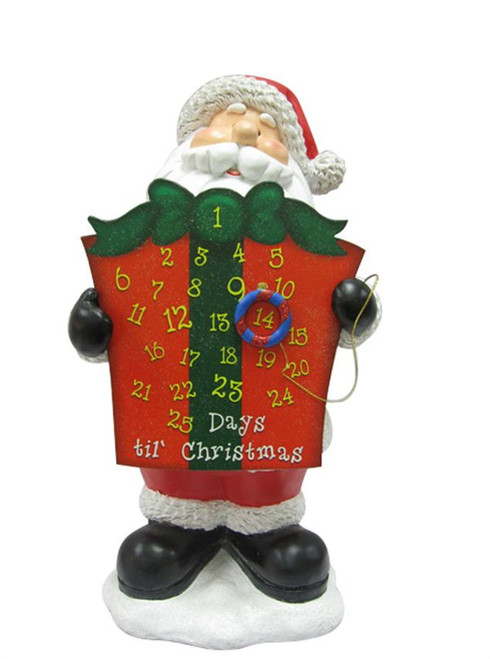 17 Inch Countdown Santa