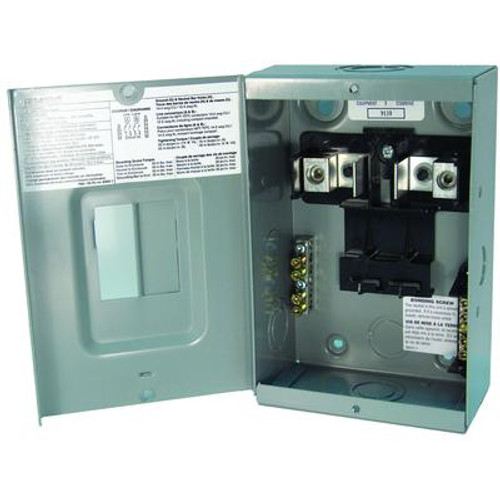 2/4 Circuit 60A 120/240V Siemens Loadcentre