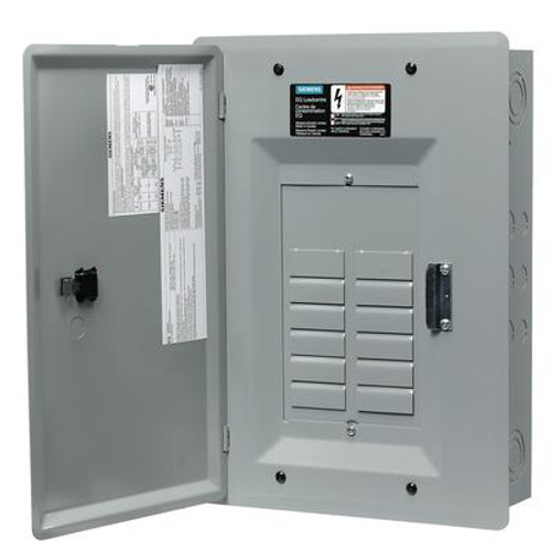 12/24 Circuit 100A 120/240V Siemens Loadcentre