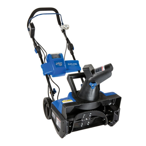 iON Cordless Electric Snow Blower with 18-inch Clearing Width and Rechargeable Ecosharp Battery