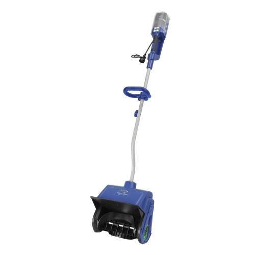 40v 4.0 Ah Hybrid Cordless and Electric Cordless Snow Shovel with 13-Inch Clearing Width