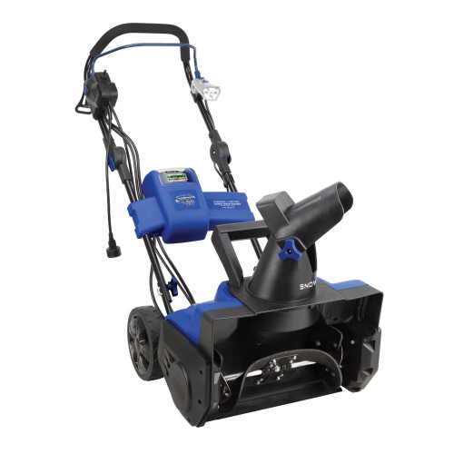 40V Max 13.5 Amp Single-Stage Cordless Electric Hybrid Snow Blower with 18-Inch Clearing Width