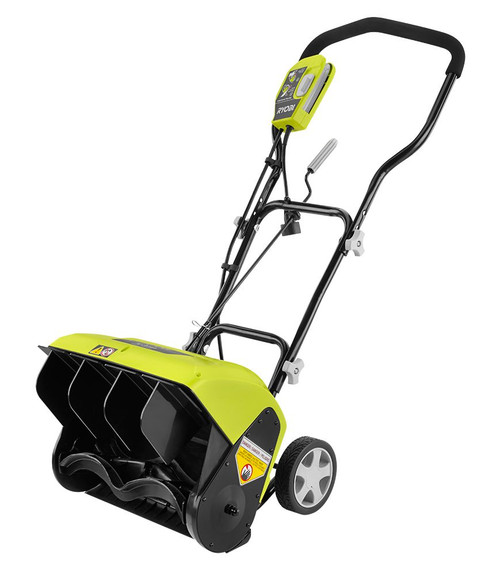 10 Amp Electric Snow Blower with 16-Inch Clearing Width