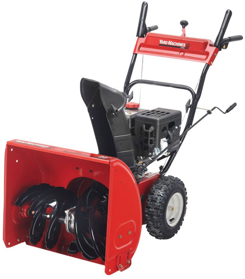 179cc YardMachines 22 2 stage Snow Blower
