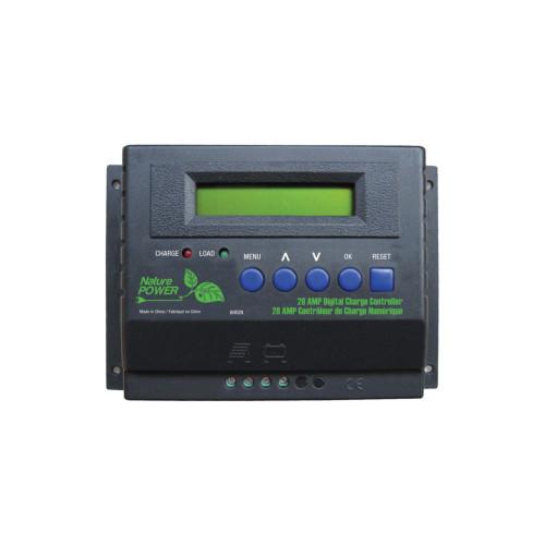 28-Amp 450-Watt 12-Volt/24-Volt Digital Solar Power Charge Controller