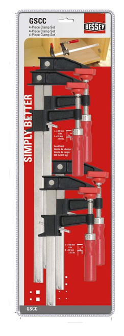 Clutch Clamp Set (4-Piece)