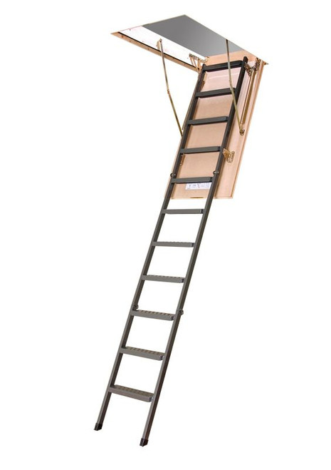Attic Ladder (Metal Insulated) LMS 22 1/2 x 47 350lbs 8ft 11in