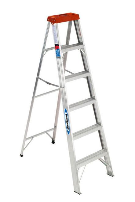 Aluminum Stepladder Grade 3 (200# Load Capacity) - 6 Feet
