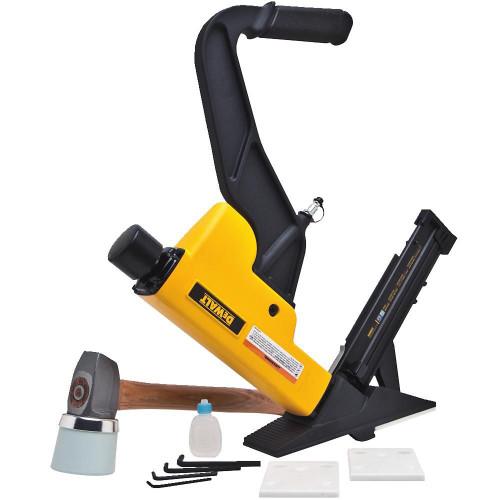 """2-In-1 Flooring Tool (15.5 Gauge Staples Or 16 Gauge """"L"""" Cleat Nails)"""