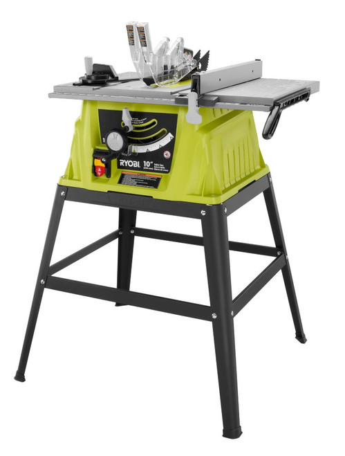 10 Inch Table Saw, Stand