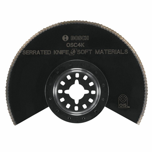 4  Inch.  Multi-Tool HCS Serrated-Knife Segmented Saw Blade