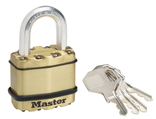 Magnum<sup>®</sup> Brass Padlock With 1 Inch  Shackle