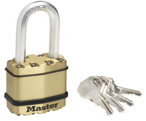 Magnum<sup>®</sup> Brass Padlock With 1-1/2 Inch  Shackle