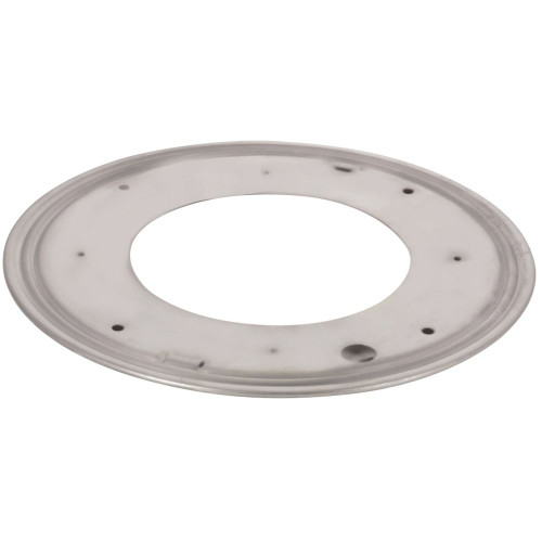 "12"" Round Metal Swivel Plate"