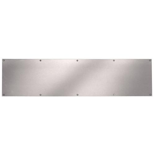 Kick Plate 8 Inch x 34 Inch, Satin Nickel