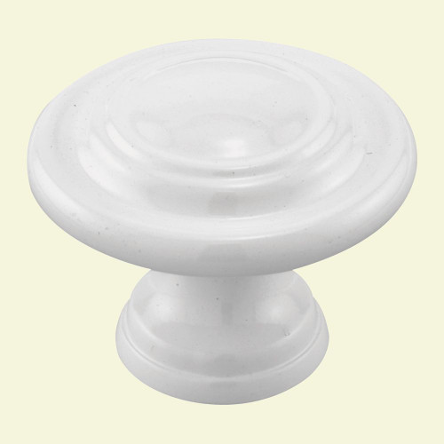 Bifold Door Knob White 1-3/4 Inch
