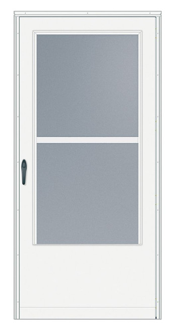 36 Inch Width, 200 Series Triple-Track, White Door, Black Hardware