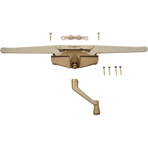 16-1/8in. Roto Gear Awning Operator with Crank, Coppertone