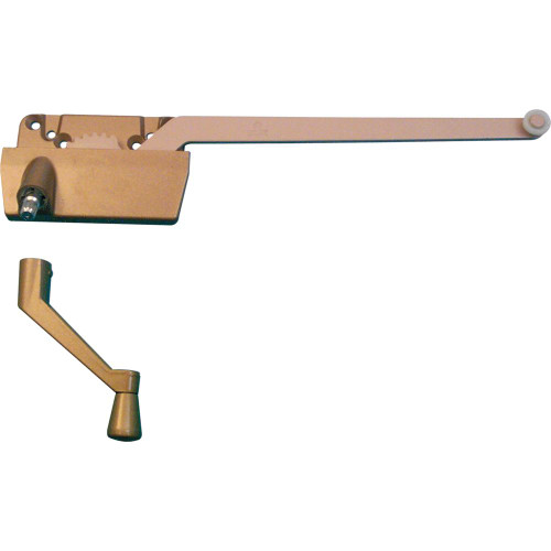 9-1/2in. Right Handed Single Arm Operator with Crank, Coppertone