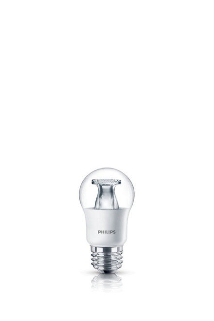 LED 40W A15 Medium Base Clear Soft White WarmGlow (2700K - 2200K) - Case Of 4 Bulbs