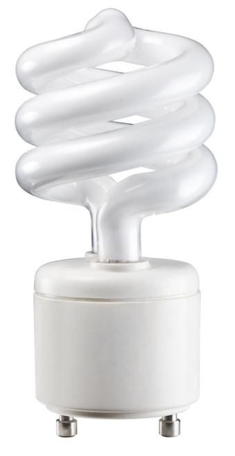 CFL 13W = 60W GU24 Mini Twister Soft White (2700K)