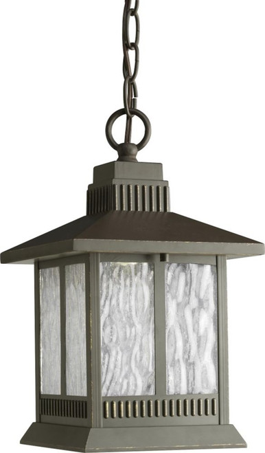 Greenridge Collection Antique Bronze 1-light LED Hanging Lantern