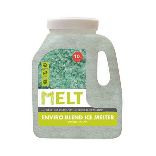 MELT 10 Lb. Jug Premium Enviro-Blend Ice Melter W/ CMA